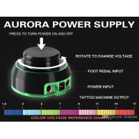 AURORA 1 - TATTOO POWER SUPPLY